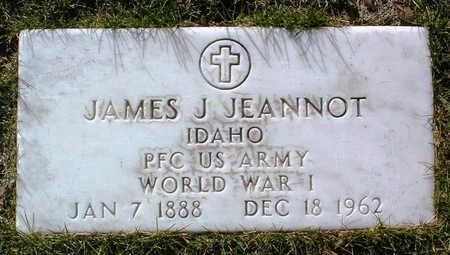 JEANNOT, JAMES JOE - Yavapai County, Arizona   JAMES JOE JEANNOT - Arizona Gravestone Photos