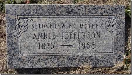 JEFFERSON, ANNIE H. - Yavapai County, Arizona | ANNIE H. JEFFERSON - Arizona Gravestone Photos