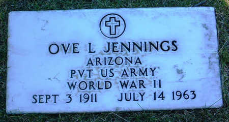 JENNINGS, OVE L. - Yavapai County, Arizona | OVE L. JENNINGS - Arizona Gravestone Photos