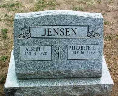JENSEN, ALBERT F. - Yavapai County, Arizona | ALBERT F. JENSEN - Arizona Gravestone Photos
