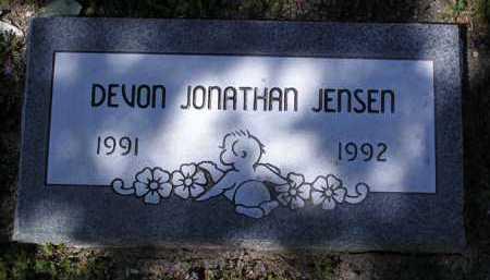 JENSEN, DEVON JONATHAN - Yavapai County, Arizona | DEVON JONATHAN JENSEN - Arizona Gravestone Photos