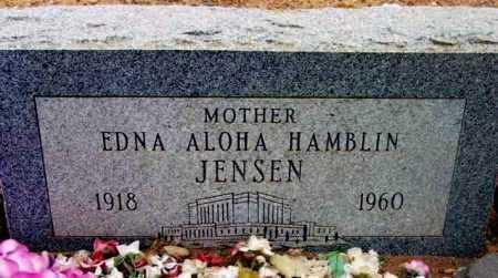 JENSEN, EDNA ALOHA - Yavapai County, Arizona | EDNA ALOHA JENSEN - Arizona Gravestone Photos