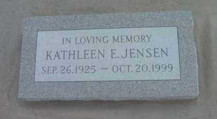 JENSEN, KATHLEEN ELIZABETH - Yavapai County, Arizona   KATHLEEN ELIZABETH JENSEN - Arizona Gravestone Photos