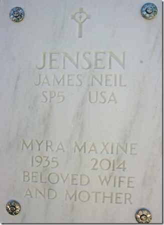 JENSEN, MYRA MAXINE - Yavapai County, Arizona | MYRA MAXINE JENSEN - Arizona Gravestone Photos