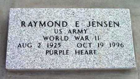 JENSEN, RAYMOND E. - Yavapai County, Arizona   RAYMOND E. JENSEN - Arizona Gravestone Photos