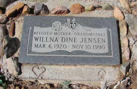 JENSEN, WILLNA / WILMA - Yavapai County, Arizona | WILLNA / WILMA JENSEN - Arizona Gravestone Photos