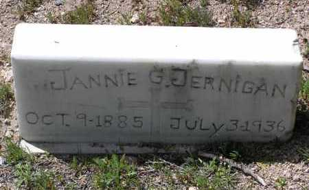 JERNIGAN, JANNIE WRIGHT G. - Yavapai County, Arizona | JANNIE WRIGHT G. JERNIGAN - Arizona Gravestone Photos