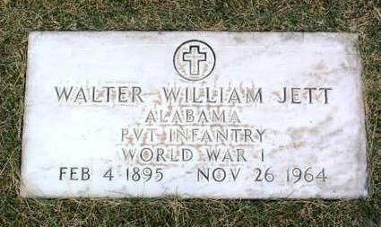 JETT, WALTER WILLIAM - Yavapai County, Arizona   WALTER WILLIAM JETT - Arizona Gravestone Photos