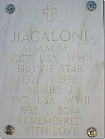 JIACALONE, SAM M. - Yavapai County, Arizona | SAM M. JIACALONE - Arizona Gravestone Photos