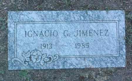 JIMENEZ, IGNACIO G. - Yavapai County, Arizona | IGNACIO G. JIMENEZ - Arizona Gravestone Photos