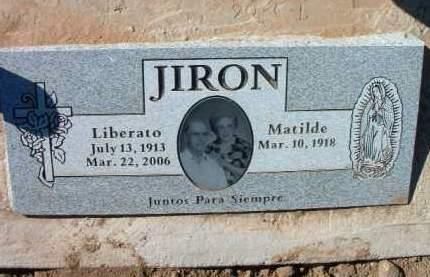 JIRON, LIBERATO (LEVI) - Yavapai County, Arizona | LIBERATO (LEVI) JIRON - Arizona Gravestone Photos