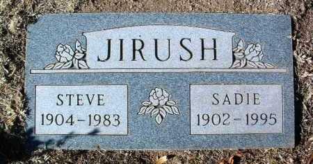 JIRUSH, SADIE R. - Yavapai County, Arizona   SADIE R. JIRUSH - Arizona Gravestone Photos