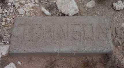 JOHNSON, UNKNOWN - Yavapai County, Arizona | UNKNOWN JOHNSON - Arizona Gravestone Photos