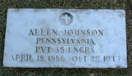 JOHNSON, ALLEN - Yavapai County, Arizona | ALLEN JOHNSON - Arizona Gravestone Photos