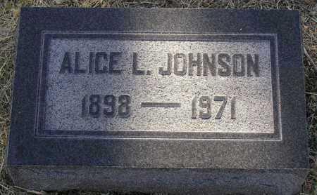 WARE JOHNSON, ALICE L. - Yavapai County, Arizona | ALICE L. WARE JOHNSON - Arizona Gravestone Photos