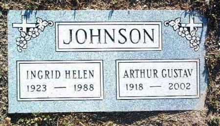 JOHNSON, ARTHUR GUSTAV - Yavapai County, Arizona   ARTHUR GUSTAV JOHNSON - Arizona Gravestone Photos