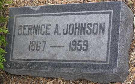 JOHNSON, BERNICE A. - Yavapai County, Arizona | BERNICE A. JOHNSON - Arizona Gravestone Photos