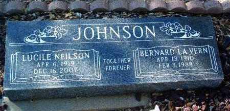 JOHNSON, LUCILE - Yavapai County, Arizona   LUCILE JOHNSON - Arizona Gravestone Photos