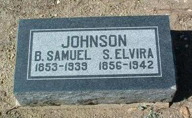 JOHNSON, BENJAMIN SAMUEL - Yavapai County, Arizona | BENJAMIN SAMUEL JOHNSON - Arizona Gravestone Photos