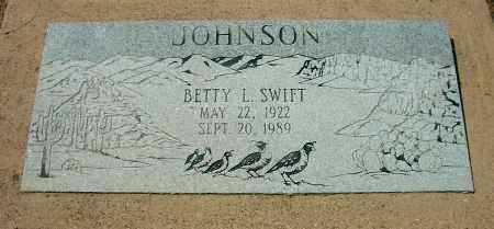 JOHNSON, BETTY L. - Yavapai County, Arizona | BETTY L. JOHNSON - Arizona Gravestone Photos