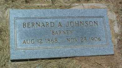JOHNSON, BERNARD ALBERT - Yavapai County, Arizona | BERNARD ALBERT JOHNSON - Arizona Gravestone Photos