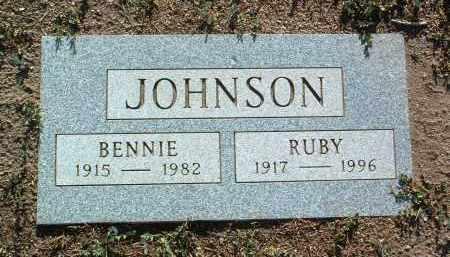 JOHNSON, BENNIE G. - Yavapai County, Arizona | BENNIE G. JOHNSON - Arizona Gravestone Photos