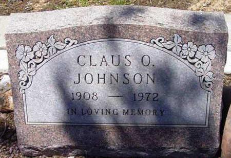 JOHNSON, CLAUS O. - Yavapai County, Arizona | CLAUS O. JOHNSON - Arizona Gravestone Photos