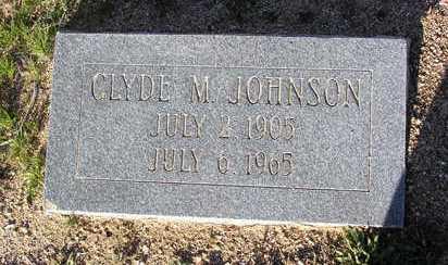JOHNSON, CLYDE M. - Yavapai County, Arizona | CLYDE M. JOHNSON - Arizona Gravestone Photos