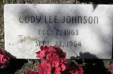 JOHNSON, CODY LEE - Yavapai County, Arizona   CODY LEE JOHNSON - Arizona Gravestone Photos
