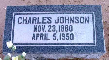 JOHNSON, CHARLES - Yavapai County, Arizona   CHARLES JOHNSON - Arizona Gravestone Photos