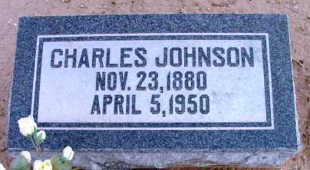 JOHNSON, CHARLES - Yavapai County, Arizona | CHARLES JOHNSON - Arizona Gravestone Photos