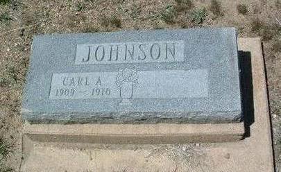 JOHNSON, CARL A. - Yavapai County, Arizona   CARL A. JOHNSON - Arizona Gravestone Photos