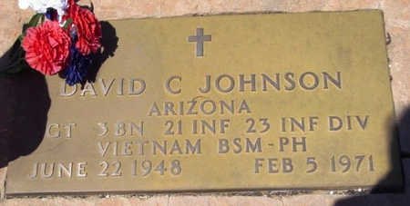 JOHNSON, DAVID CHARLES - Yavapai County, Arizona | DAVID CHARLES JOHNSON - Arizona Gravestone Photos