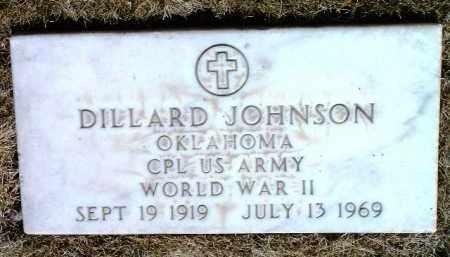 JOHNSON, DILLARD - Yavapai County, Arizona | DILLARD JOHNSON - Arizona Gravestone Photos