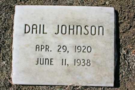 JOHNSON, DAIL - Yavapai County, Arizona | DAIL JOHNSON - Arizona Gravestone Photos