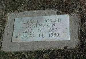 JOHNSON, EZEKIEL JOSEPH - Yavapai County, Arizona | EZEKIEL JOSEPH JOHNSON - Arizona Gravestone Photos