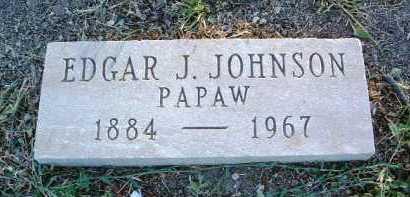 JOHNSON, EDGAR JESSE - Yavapai County, Arizona   EDGAR JESSE JOHNSON - Arizona Gravestone Photos
