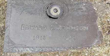 JOHNSON, EDWARD SQUIRE - Yavapai County, Arizona   EDWARD SQUIRE JOHNSON - Arizona Gravestone Photos