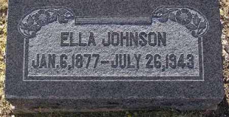 JOHNSON, ELLA JANE - Yavapai County, Arizona | ELLA JANE JOHNSON - Arizona Gravestone Photos