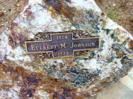 JOHNSON, EVERETT M. - Yavapai County, Arizona | EVERETT M. JOHNSON - Arizona Gravestone Photos