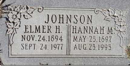 JOHNSON, ELMER H. - Yavapai County, Arizona | ELMER H. JOHNSON - Arizona Gravestone Photos