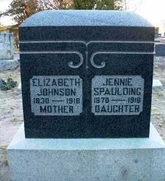 JOHNSON, ELIZABETH C. - Yavapai County, Arizona | ELIZABETH C. JOHNSON - Arizona Gravestone Photos