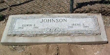 JOHNSON, IRENE ELSIE - Yavapai County, Arizona | IRENE ELSIE JOHNSON - Arizona Gravestone Photos