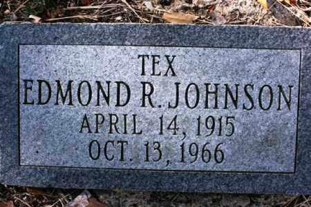 JOHNSON, EDMOND R. (TEX) - Yavapai County, Arizona | EDMOND R. (TEX) JOHNSON - Arizona Gravestone Photos