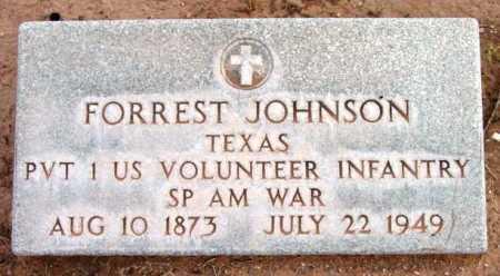 JOHNSON, FORREST BEDFORD - Yavapai County, Arizona | FORREST BEDFORD JOHNSON - Arizona Gravestone Photos