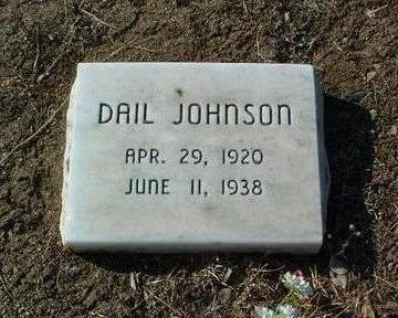 JOHNSON, FRANKLIN DAIL - Yavapai County, Arizona   FRANKLIN DAIL JOHNSON - Arizona Gravestone Photos