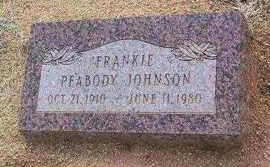 PEABODY, FRANKIE BEA - Yavapai County, Arizona | FRANKIE BEA PEABODY - Arizona Gravestone Photos