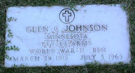 JOHNSON, GLEN C. - Yavapai County, Arizona   GLEN C. JOHNSON - Arizona Gravestone Photos