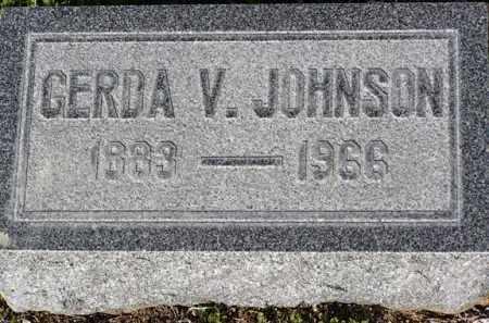 JOHNSON, GERDA V. - Yavapai County, Arizona | GERDA V. JOHNSON - Arizona Gravestone Photos