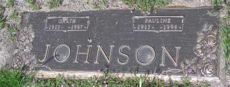 JOHNSON, PAULINE - Yavapai County, Arizona | PAULINE JOHNSON - Arizona Gravestone Photos
